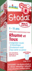 Médicament homéopathique pour les symptômes du rhume tels que la congestion nasale, l'écoulement nasal, les éternuements; le mal de gorge mineur, la toux sèche ou grasse, la congestion bronchique.